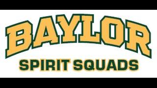 Baylor University Songleaders 2016 2017
