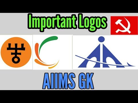 Important Logos for AIIMS GK portion by Vipin Sharma.