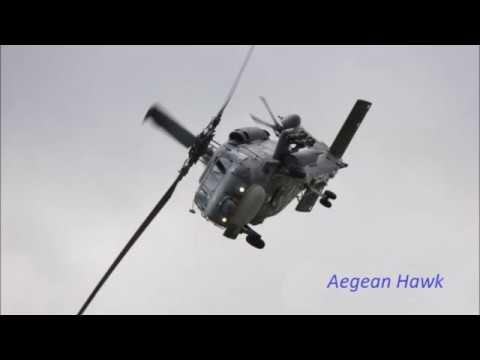 Μεταφορά Τραυματία με  Ελικόπτερο του Πολεμικού Ναυτικού