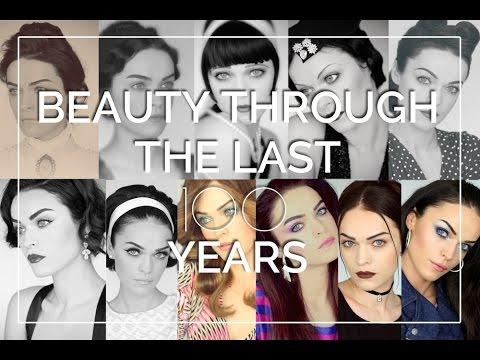 Beauty through the last 100 Years I 1900 - 2000