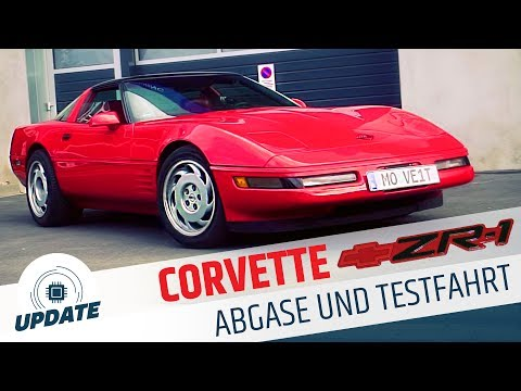 ABGASUNTERSUCHUNG CORVETTE C4 ZR-1 + REVIEW | UPDATE  | MOVE IT