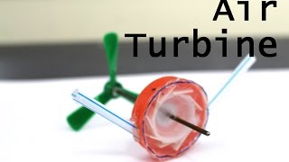 How to Make a Mini Compressed Air Turbine