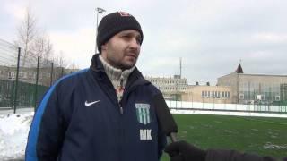 Mecz sparingowy Stomil Olsztyn - Olimpia Grudziądz 1:3, Marcin Kaczmarek. 18.02.2012