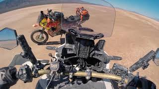 Part 2 :  Michelin Anakee Adventure Tire Launch Unleashed in Death Valley