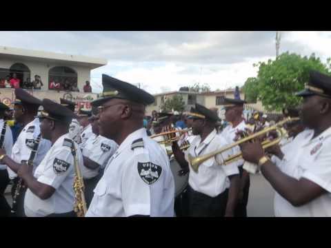 Frantz Casimir & Fanfare du Palais Nationale d'Haiti Carnaval Gonaives 2014 MVI_2710