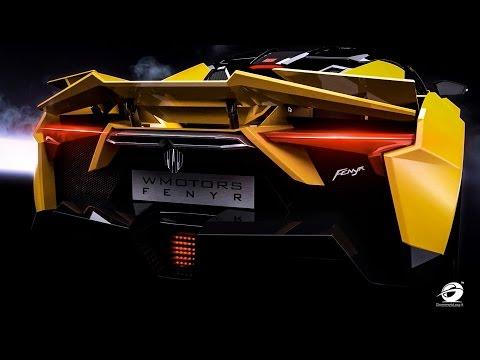900-HP Fenyr SuperSport | Retractable Rear Spoilers