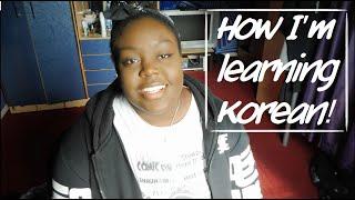 How I am Learning Korean! + Tips!