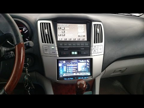 How To Upgrade The Car Stereo On Lexus Rx330 Add Usb Ports And Run Microphone To Light D