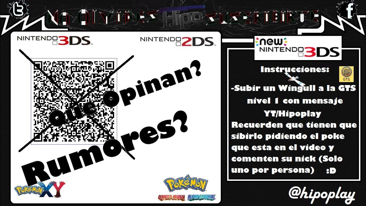 Codigos Qr Rumores Sobre Actualizacion 9 5 0 23 De Nintendo 3ds Youtube