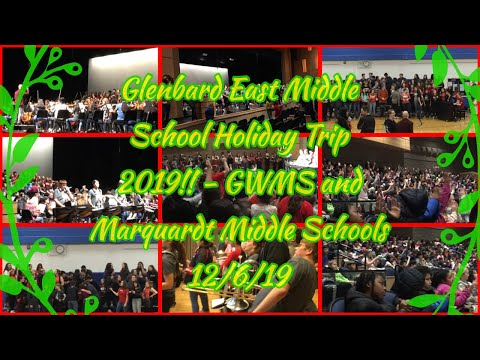 Glenbard East Middle School Holiday Trip 2019!! - GWMS and Marquardt Middle Schools 12/6/19