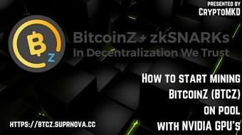 How to start mining bitcoin gold btg on pool with nvidia gpus how to start mining bitcoinz btcz on pool with nvidia gpus ccuart Choice Image