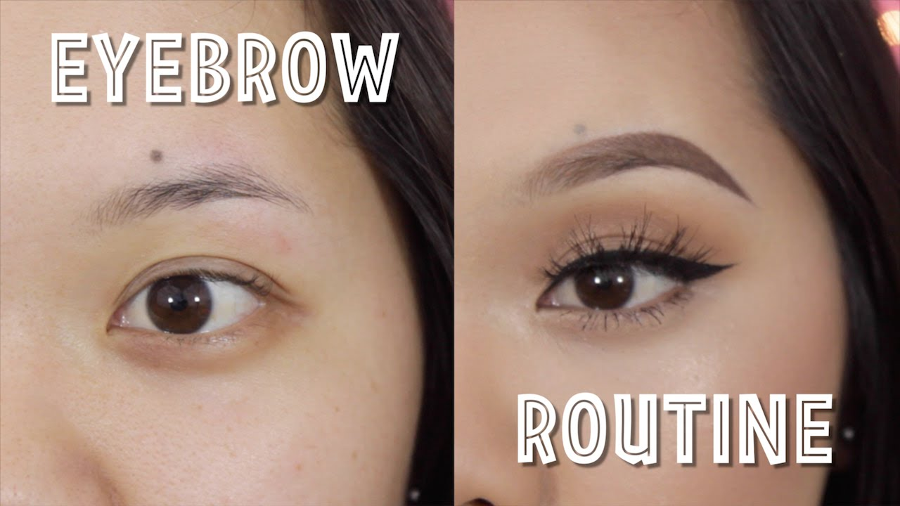 Eyebrow Tutorial Anastasia Beverly Hills Dipbrow Pomade Youtube