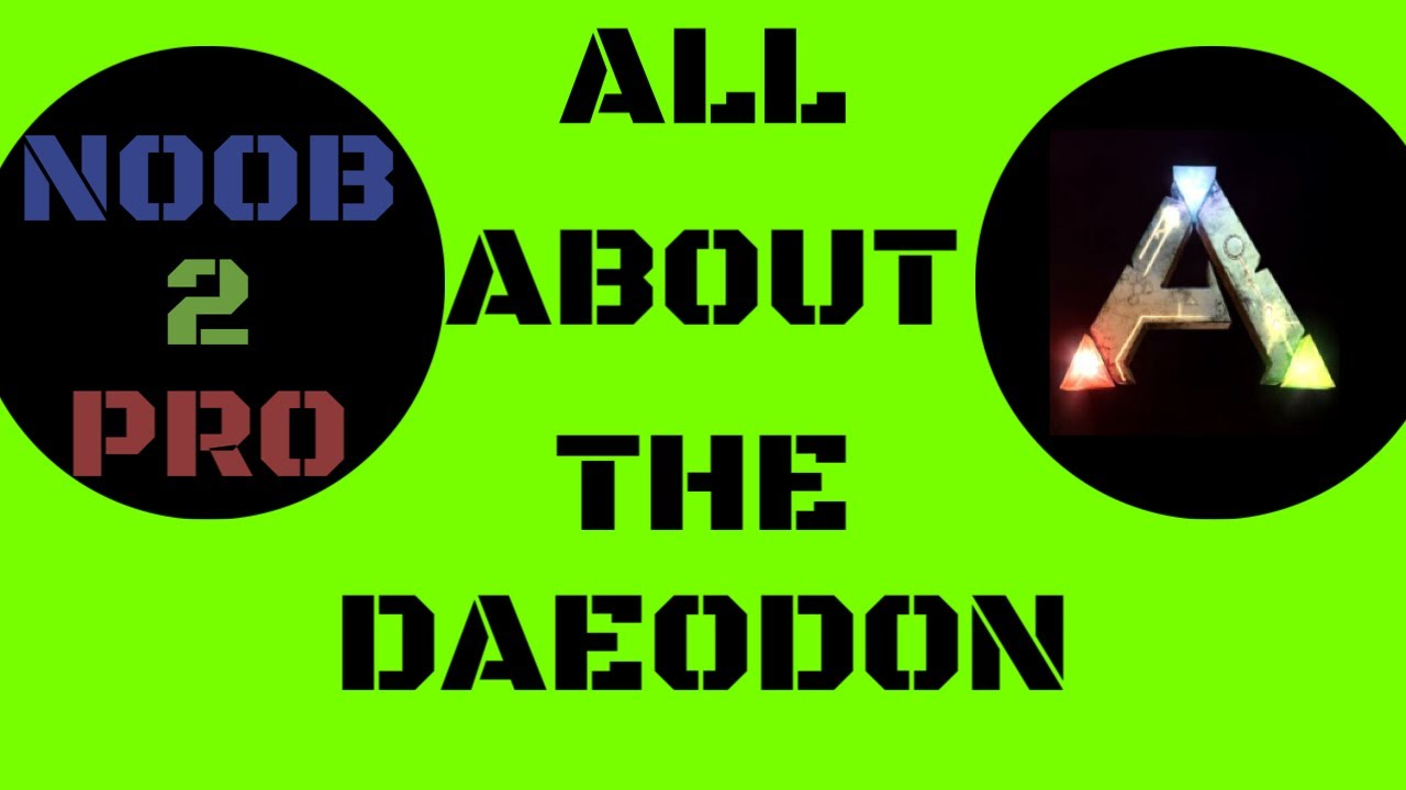 All About The Daeodon Ark Survival Evolved Youtube The daeodon are mammals in ark that travel in packs. youtube