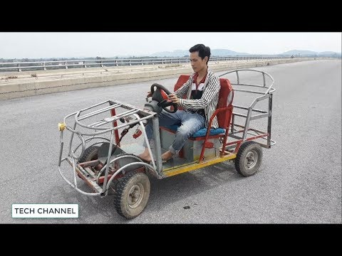 Tech The Most Beautiful Homemade Electric Car