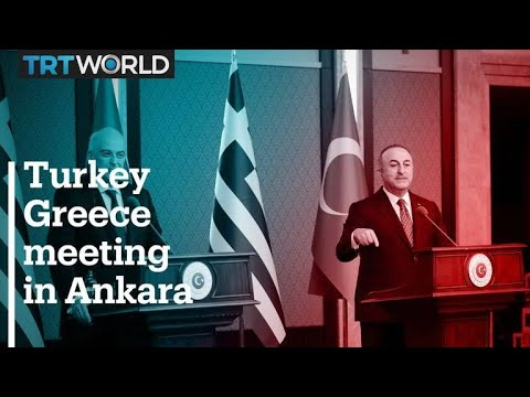 Turkish and Greek foreign ministers clash during joint press conference