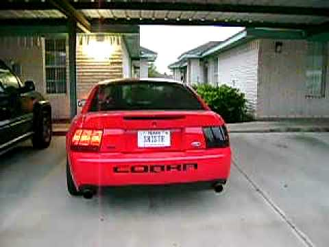 2003 cobra sequential tail lights youtube. Black Bedroom Furniture Sets. Home Design Ideas