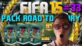 FIFA 15 : Ultimate Team - Pack Road To Glory #33 - SPECIAL PACK OPENING! [FACECAM]