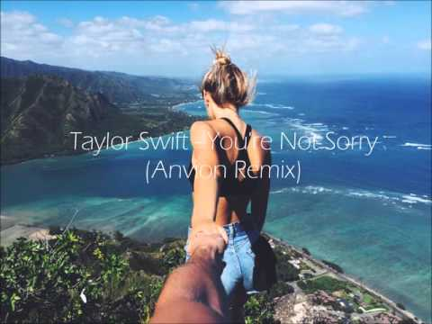 Taylor Swift - You're Not Sorry (Anvion Remix)
