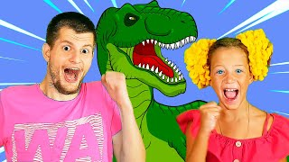 Песенка про динозавров от Ба Би Бу! Крошка Дино