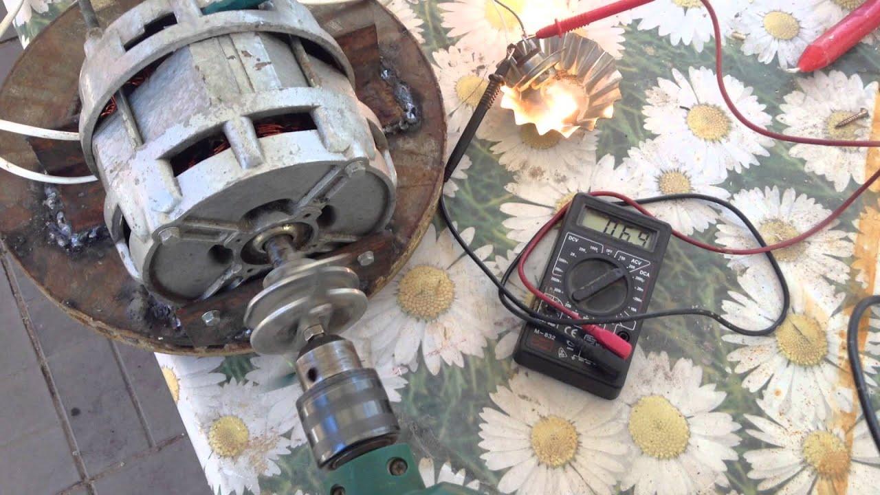 фото сделать генератор из двигателя от магнитофона супругом очень переживали