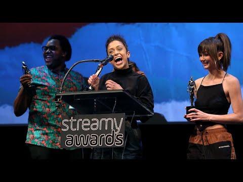 Liza on Demand Wins Comedy Series - Streamys Premiere Awards 2018