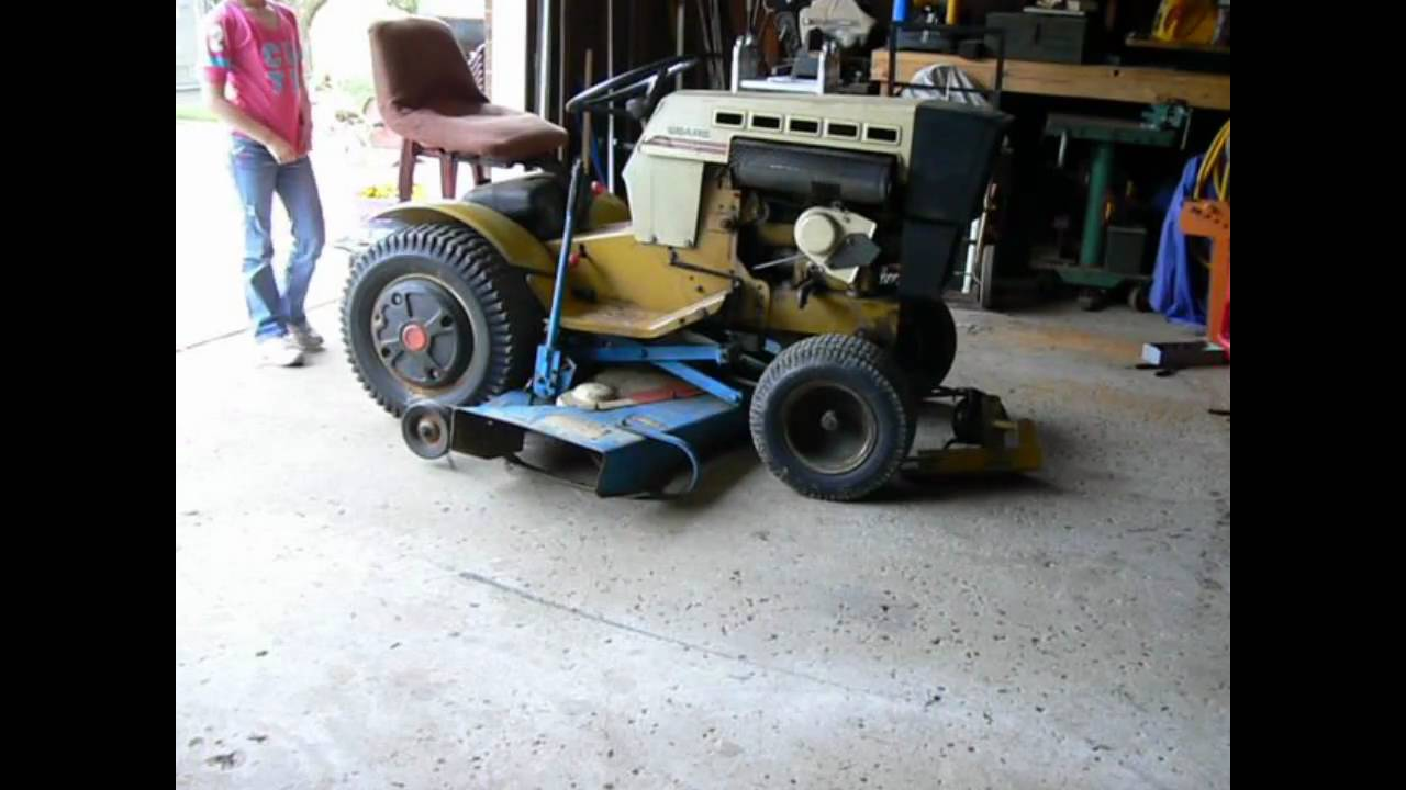 small resolution of sears ss16 mower deck install wmv