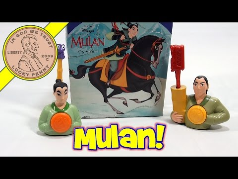 Disney's Mulan 1998 Set, McDonald's Retro Happy Meal Toy Series poster