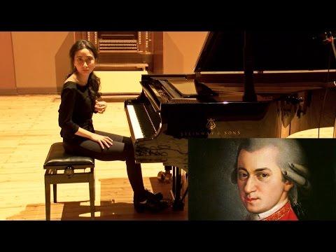 Mozart - Piano Sonata No. 1 in C major, K. 279 - Allegro - Nino Modebadze