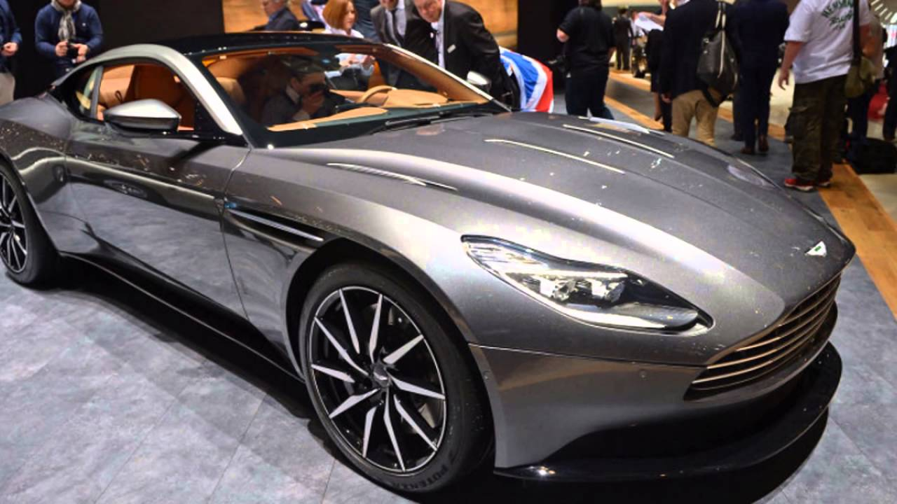 2016 Aston Martin Db11 China Grey Youtube