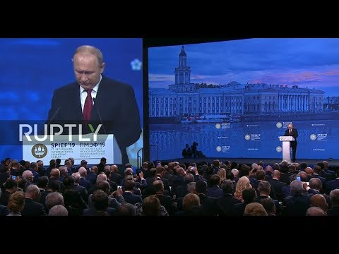 LIVE: Saint Petersburg International Economic Forum: Day 2 - Plenary session