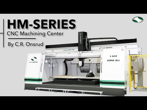 U.S. Made | 5-Axis CNC Milling Center | The HM-Series by C.R. Onsrud