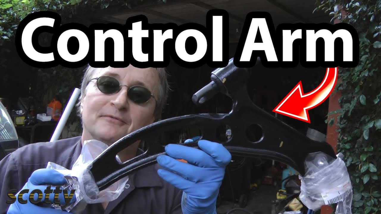 How to Stop Steering Wheel from Shaking (Lower Control Arm)