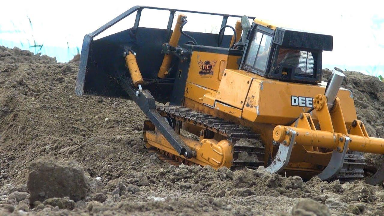 rc adventures radio control bulldozer stahl hydraulic youtube