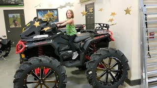 kids shopping for dirt bikes and quads. Is this kids quad?