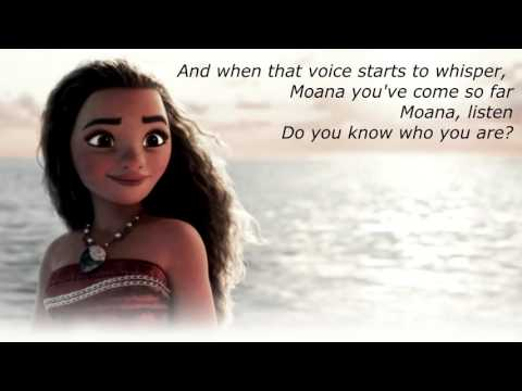 I am Moana ( Lyric Video ) - Song of the Ancestors
