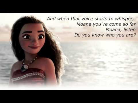I am Moana ( Lyric Video ) - Song of the Ancestors