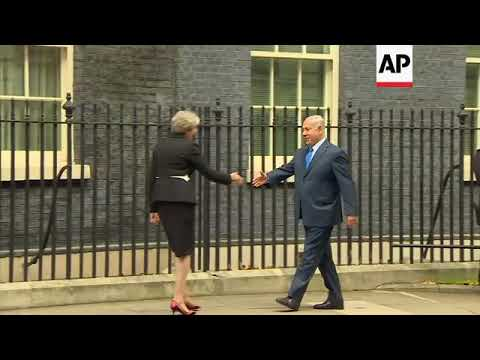 Netanyahu meets May at 10 Downing St