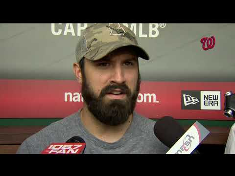 Adam Eaton on his road to recovery