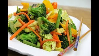 Quick And Tasty Stir-Fry #MeatFreeMonday | CaribbeanPot.com