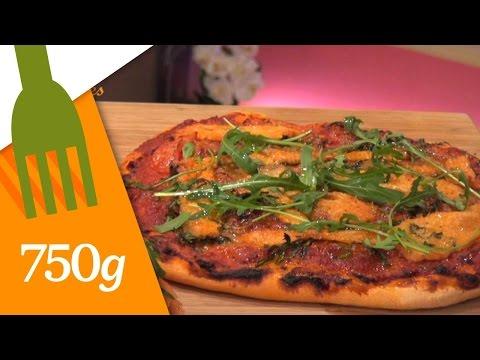 recette-de-pizza-au-saumon-fumé---750g