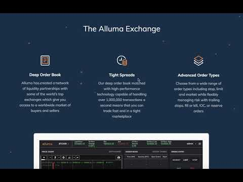 Alluma. Cryptocurrency exchange dedicated to emerging markets in Asia (ENG)