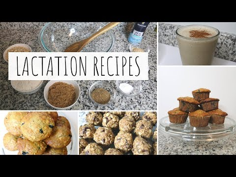 3 SNACKS TO INCREASE MILK SUPPLY | Blueberry Muffins, Energy Bites, & Banana Oatmeal Smoothie