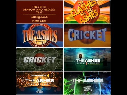 Channel Nine: Ashes Cricket Intros | 1979 - 2018