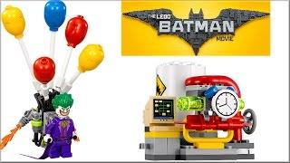 LEGO Batman Movie 70900 Побег Джокера на воздушном шаре обзор набора