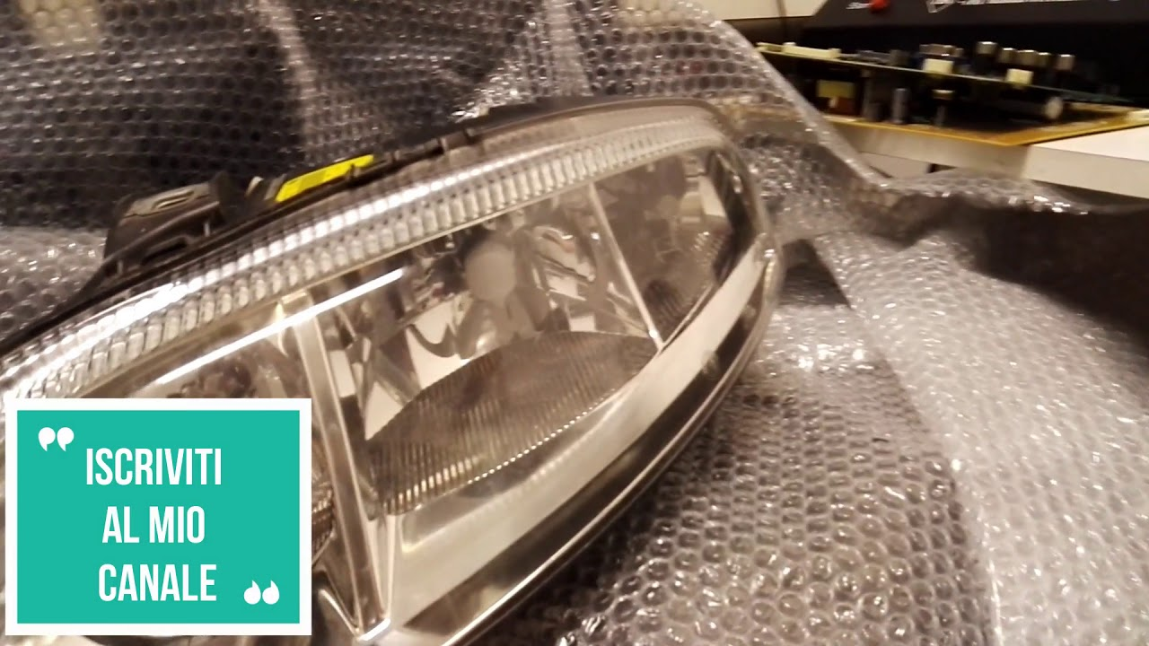 Alfa romeo gt sostituzione lampade alogene con full led