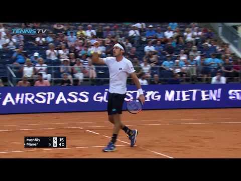 Schwartzman powers on; Monfils beaten by Mayer | Hamburg 2018 Day 3 Highlights