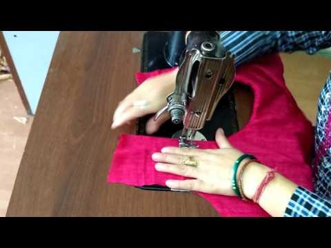 Simple Suit / Kurti Stitching in Hindi tutorial - हिंदी में सूट/कुर्ती सिलाई का सरल  तरीका thumbnail
