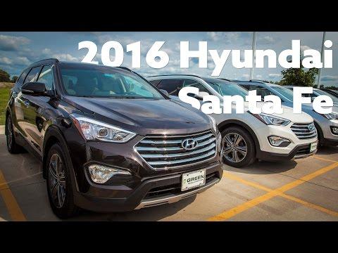 2016 Hyundai Santa Fe Test Drive