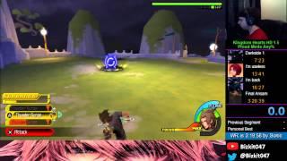 Kingdom Hearts HD 2.5 BBSFM - LV1 Mysterious Figure (Terra)