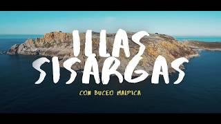 Buceando  en las Islas Sisargas